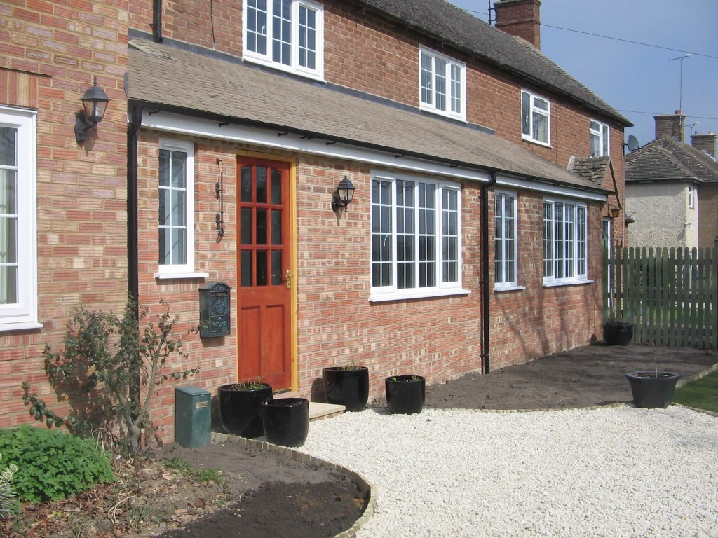 Moreton Porch Extension and Drive